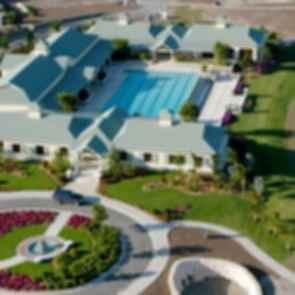 Antigua Athletic Club - Bird's Eye View