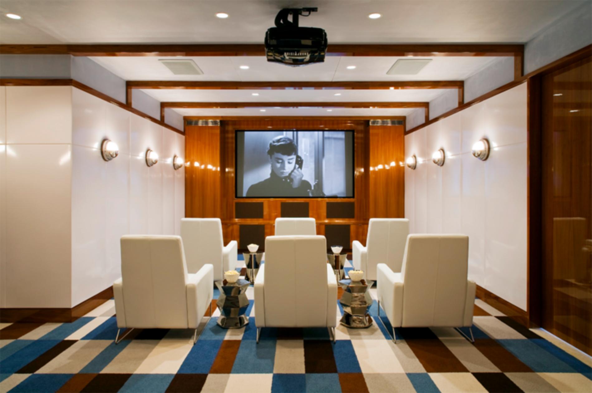 Southampton Beach House - Projection Room
