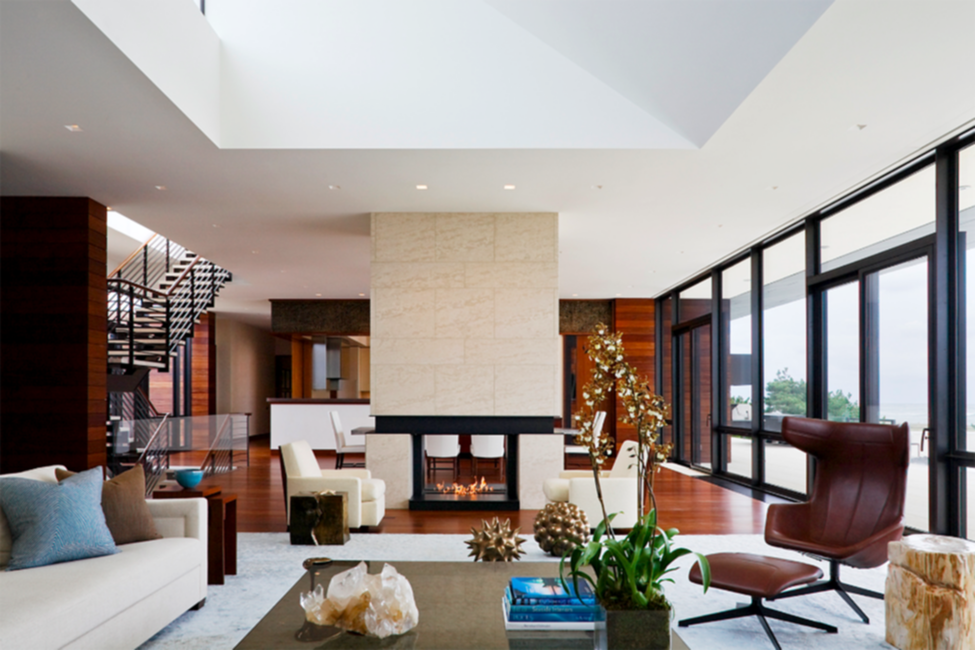Southampton Beach House - Living Room