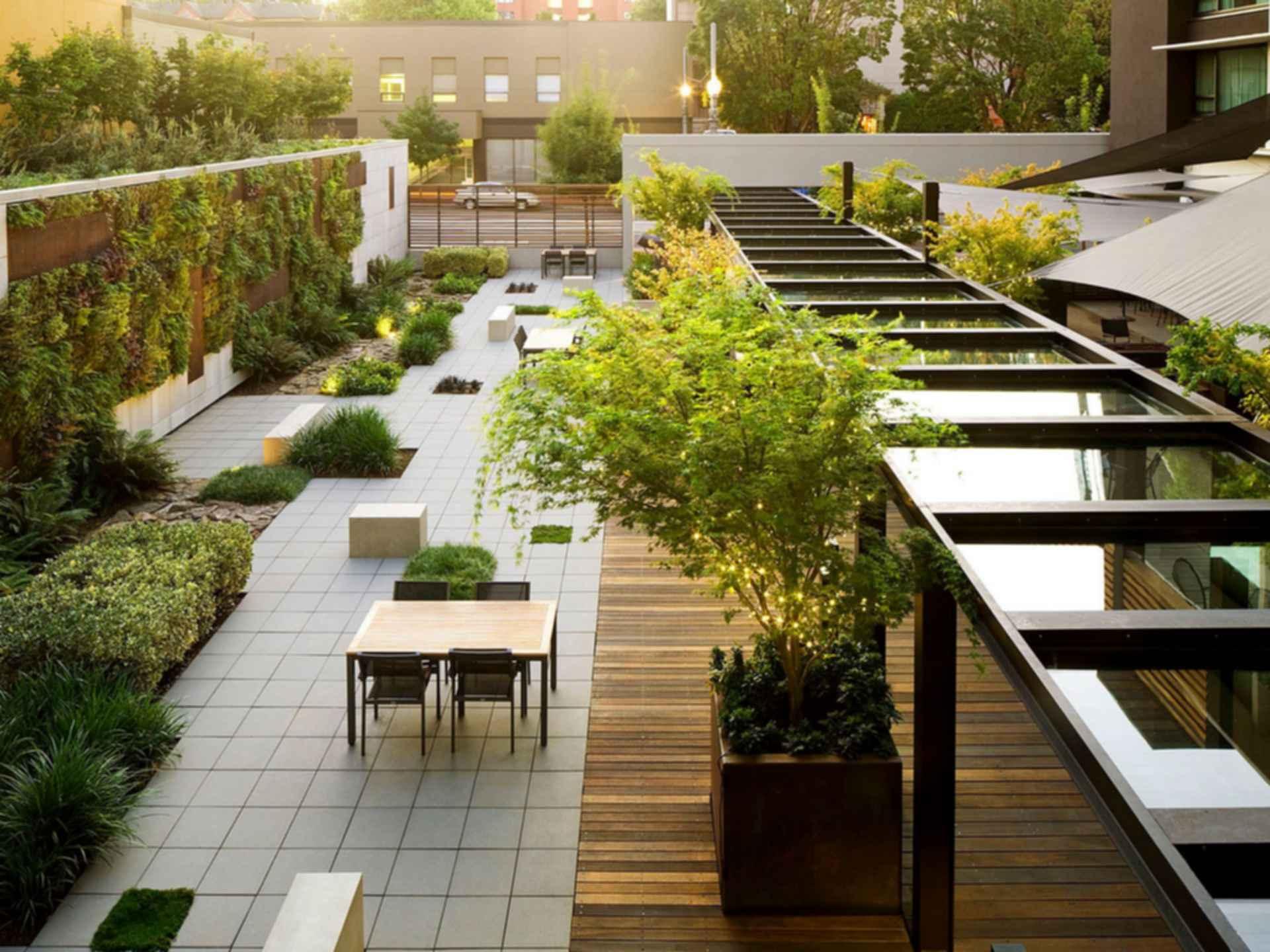 Hotel Modera - Garden Entrance