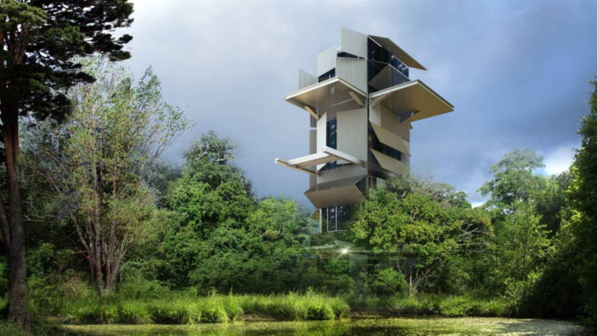 The Artists' Gardens - Artist Tower Concept