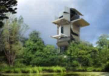 The Artists' Gardens - Artist Tower Concept