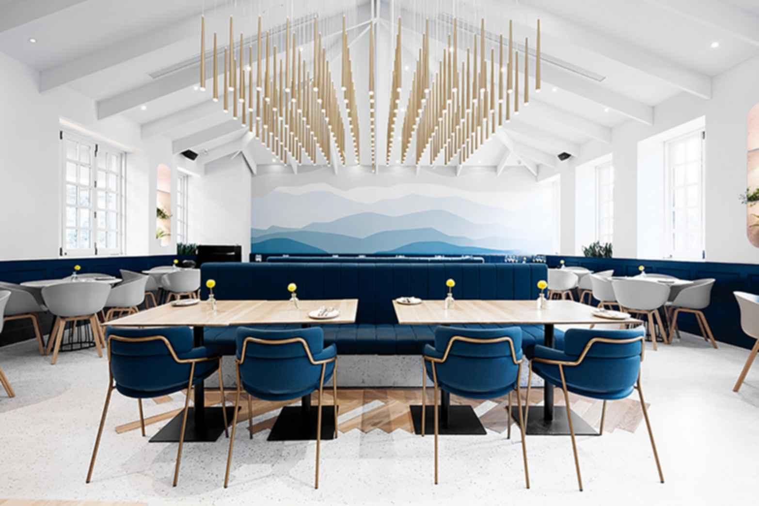 Gaga Changning Villa - Restaurant Interior