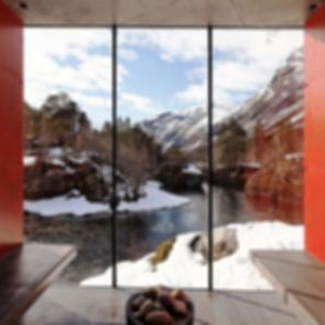 Juvet Landscape Hotel River Sauna