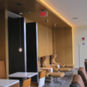 Lufthansa Logan Airport Lounge - Interior