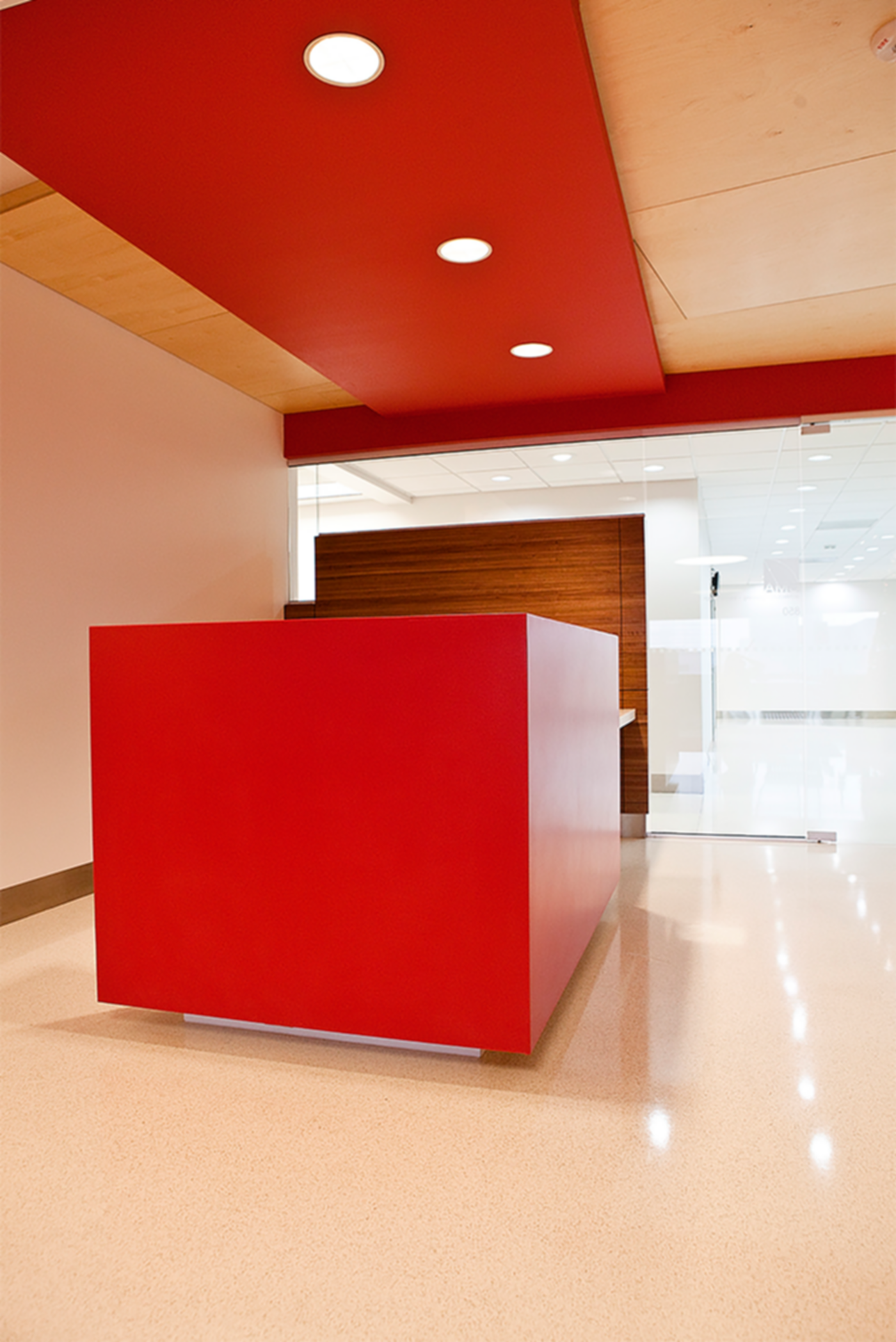 CMA Office - Reception Desk