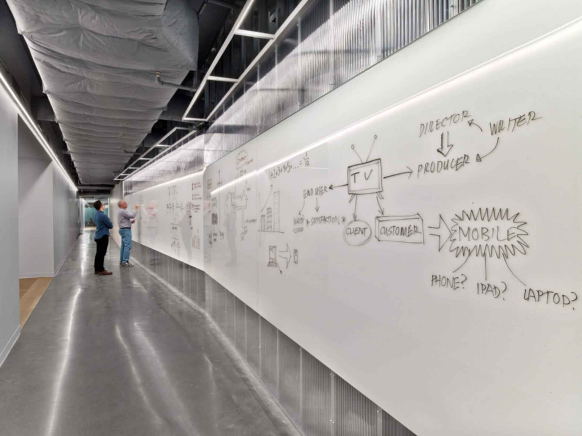 HBO Seattle Offices - Writable Wall