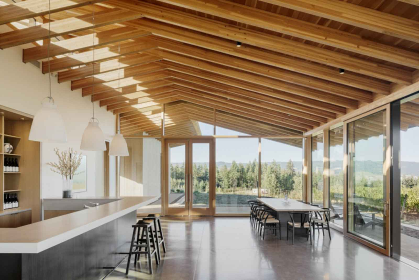 L'Angolo Estate Winery - Interior