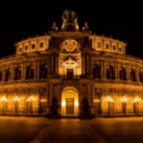 Semperoper - At Night