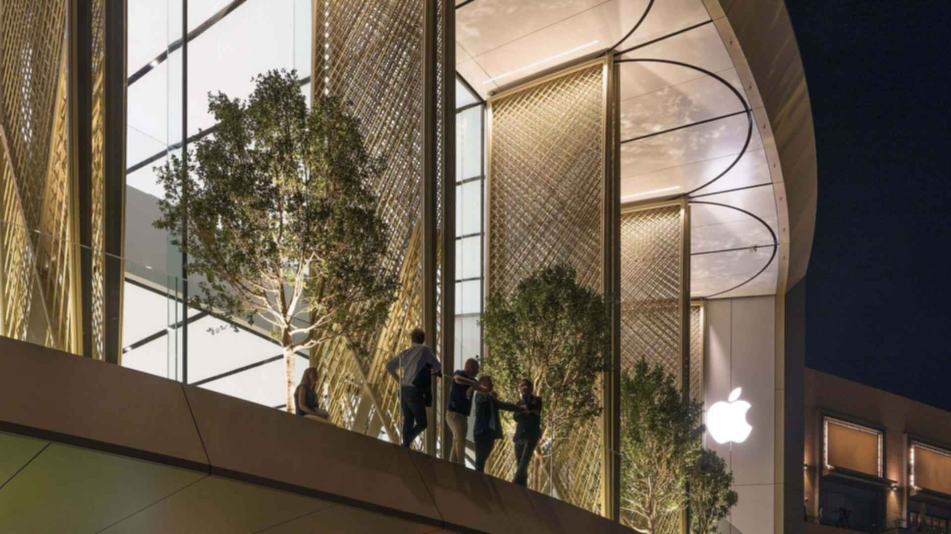 Apple Dubai Mall - Solar Wings
