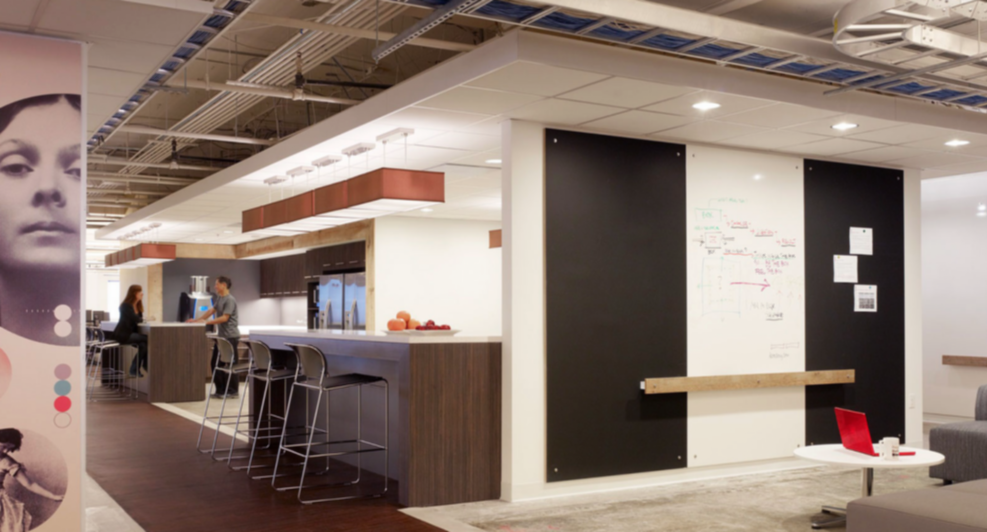 Young & Rubicam Offices - Break Room