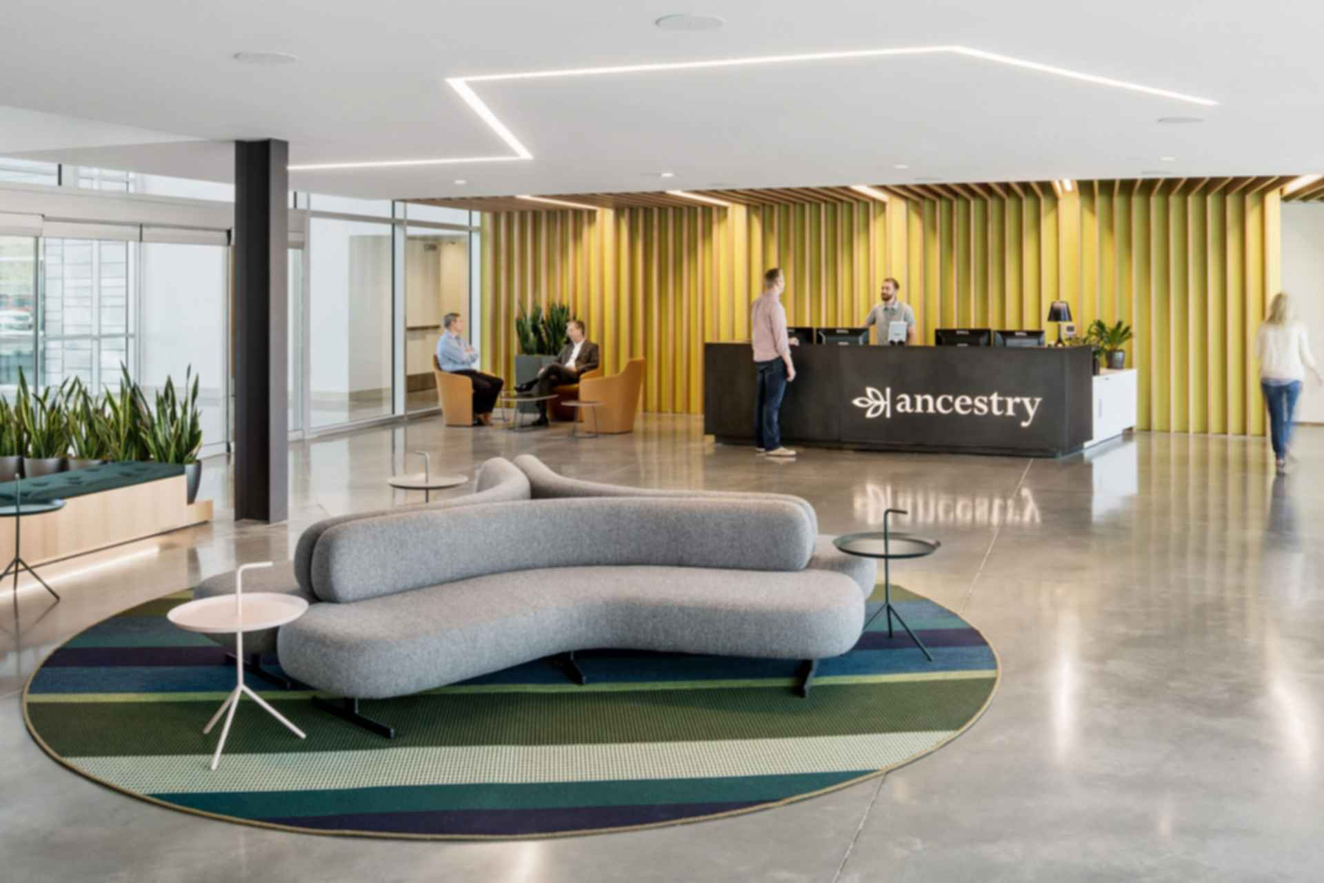 Ancestry Office - Reception