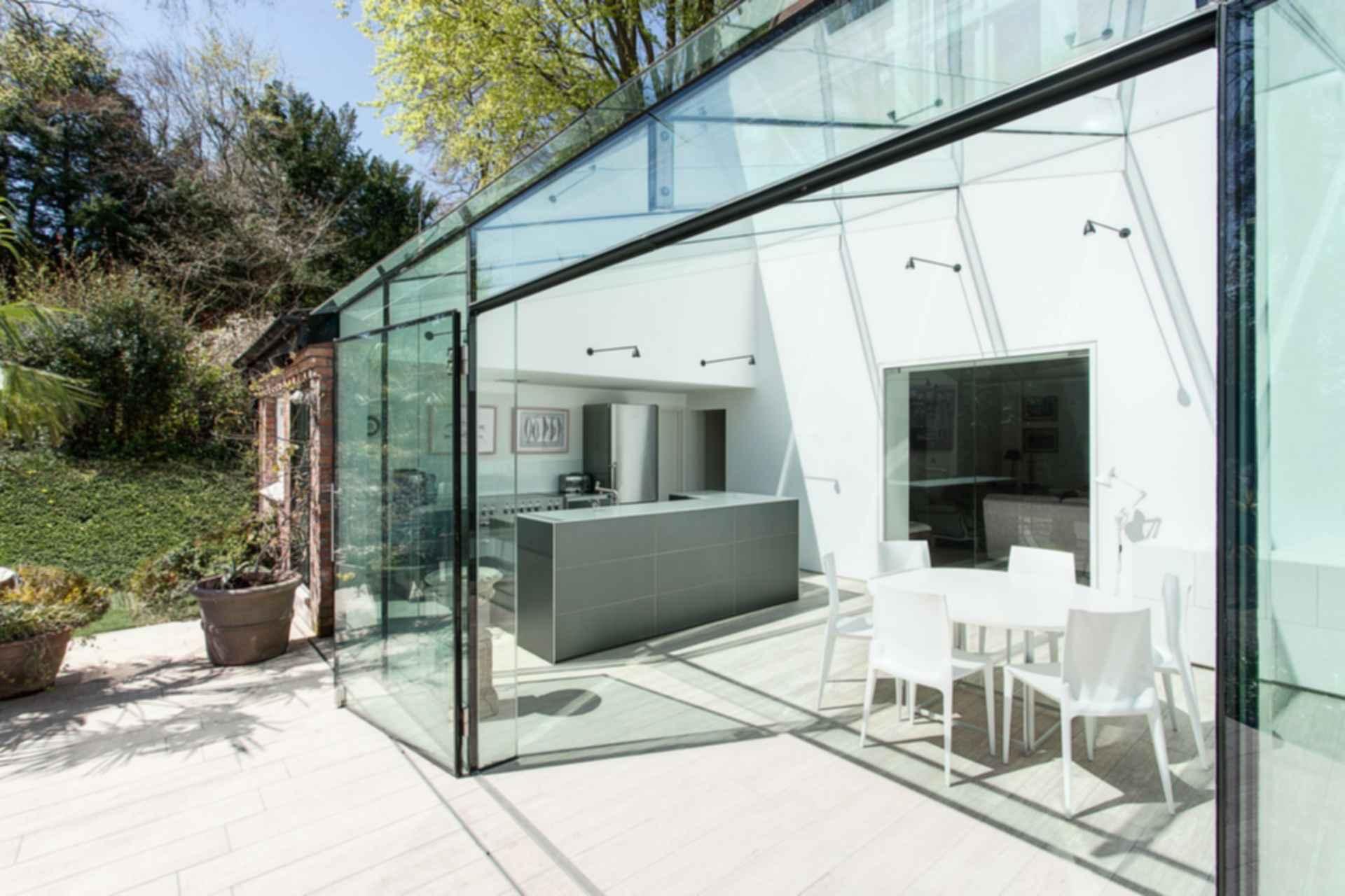 The Glass House - Exterior/Interior
