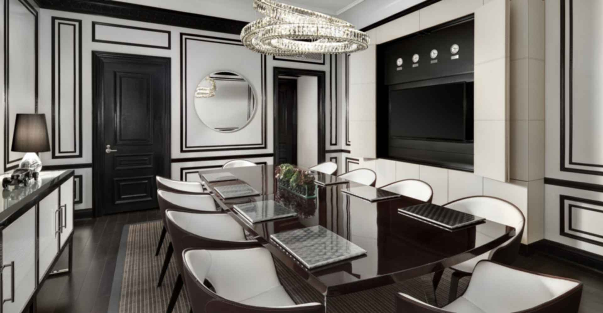 St Regis New York Bentley Suite - Meeting Room