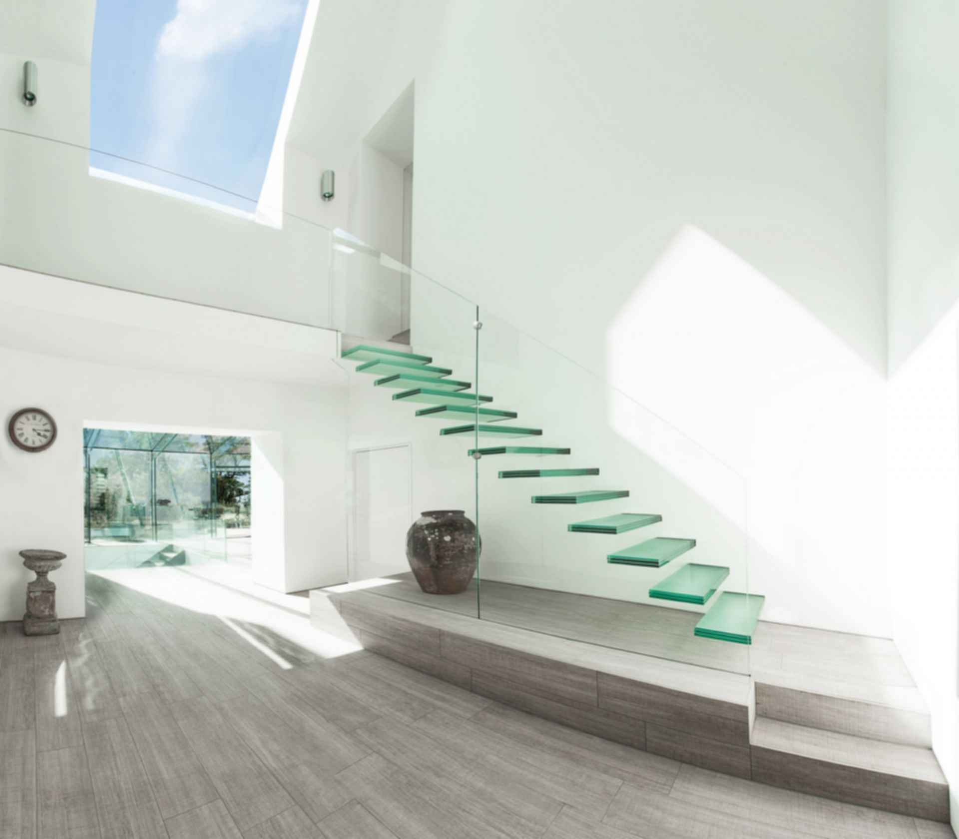 The Glass House - Interior