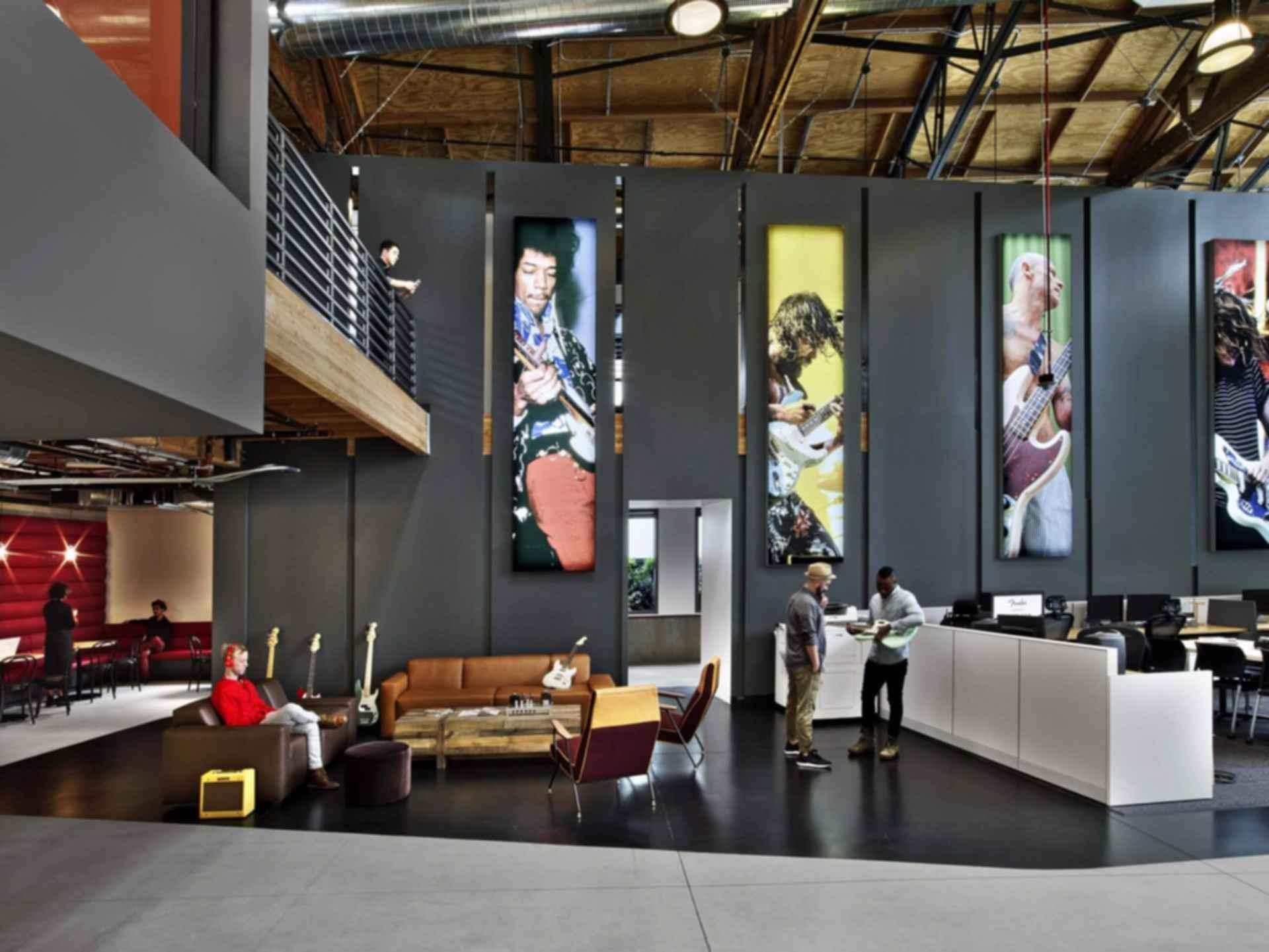 Fender Los Angeles Office - Interior