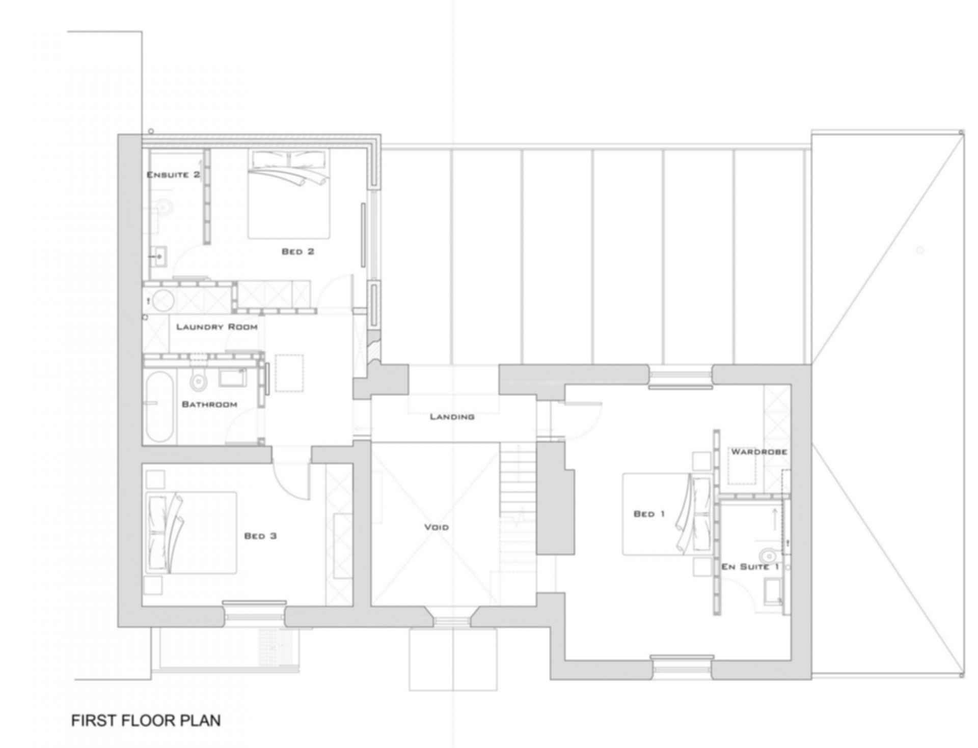The Glass House - Floor Plan
