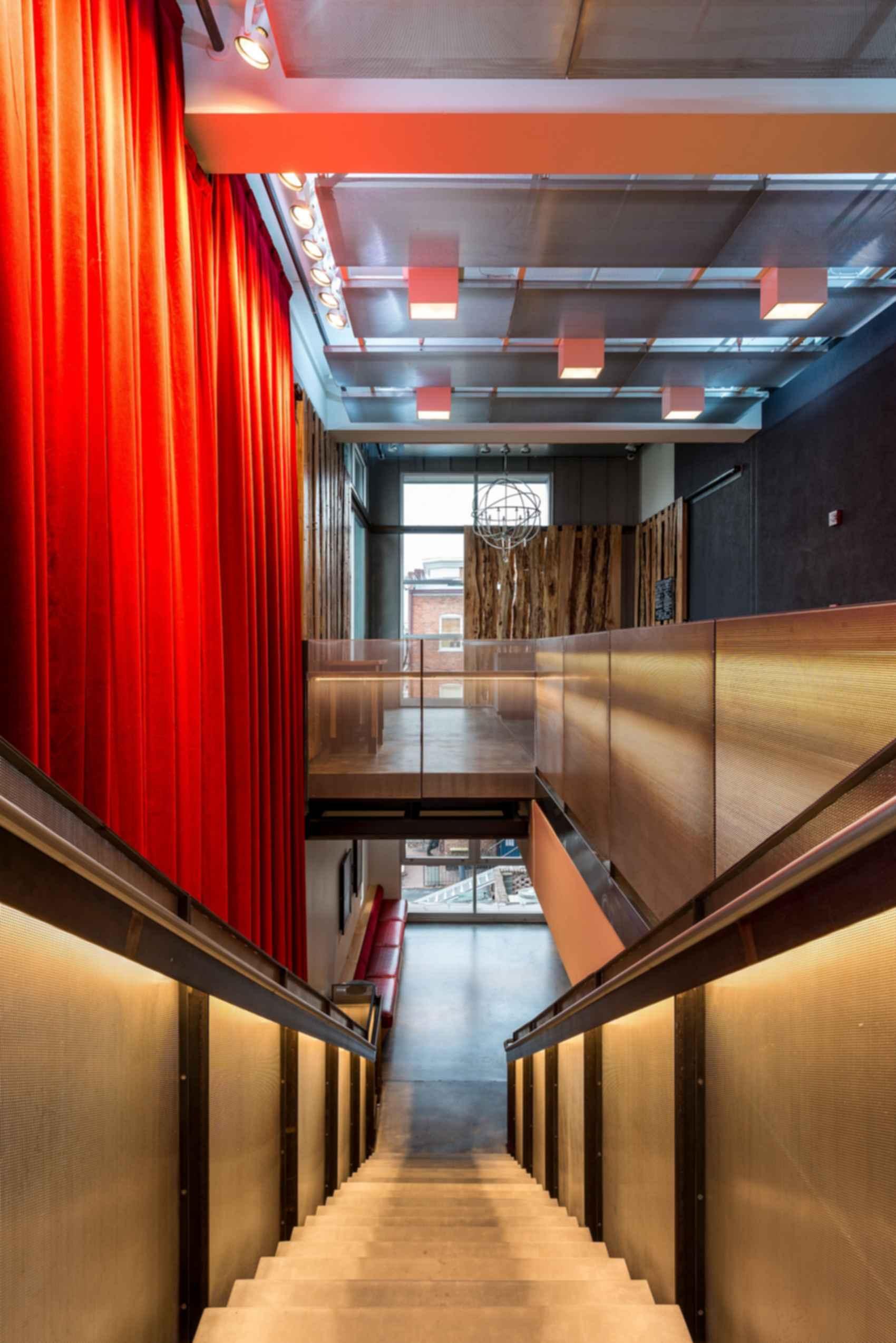 Live Arts Lobby - Top Floor