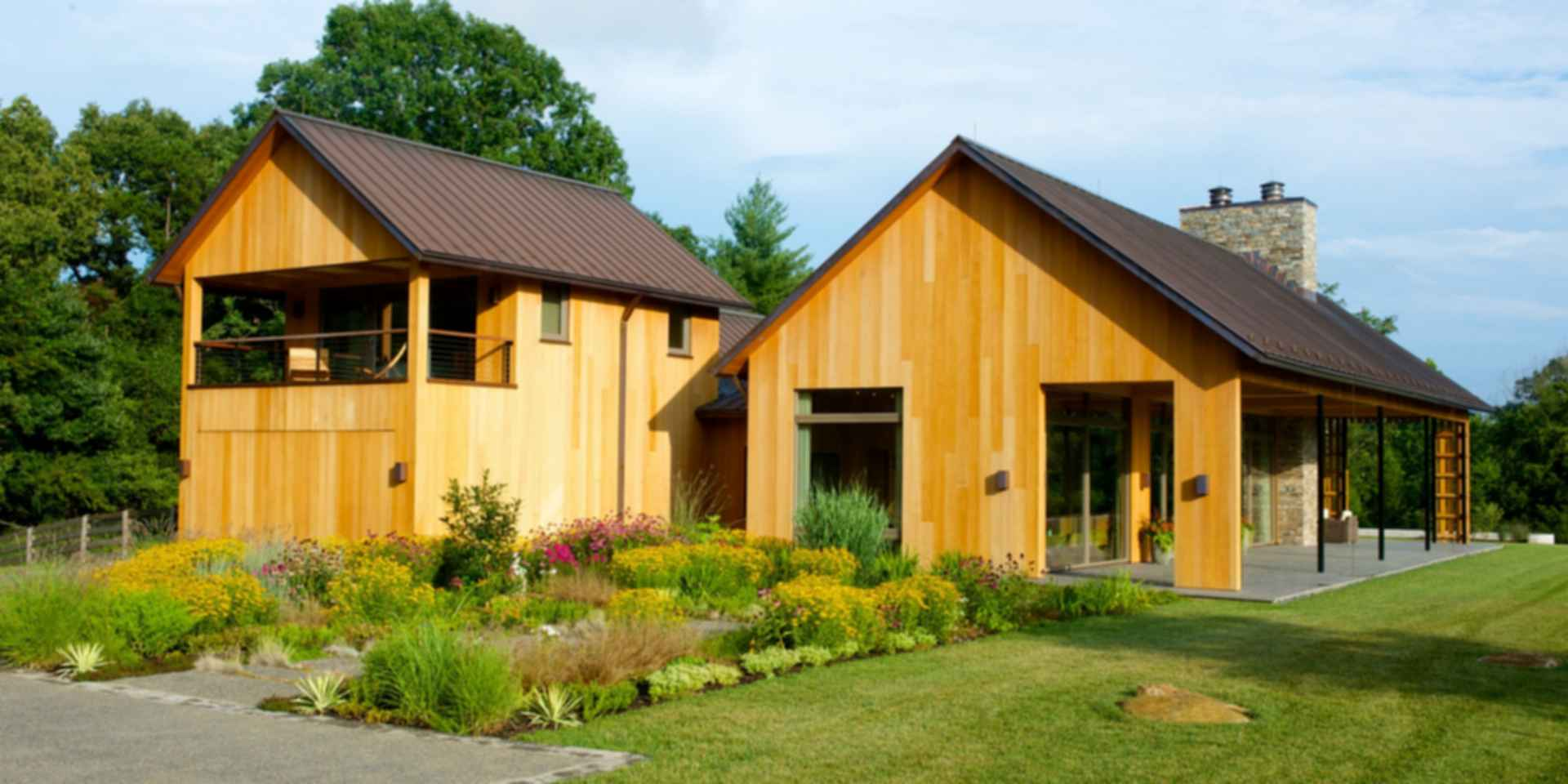 Contemporary Barn Residence