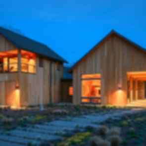 Contemporary Barn Residence - Exterior