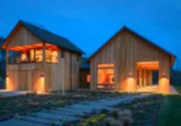 Contemporary Barn Residence - Exterior
