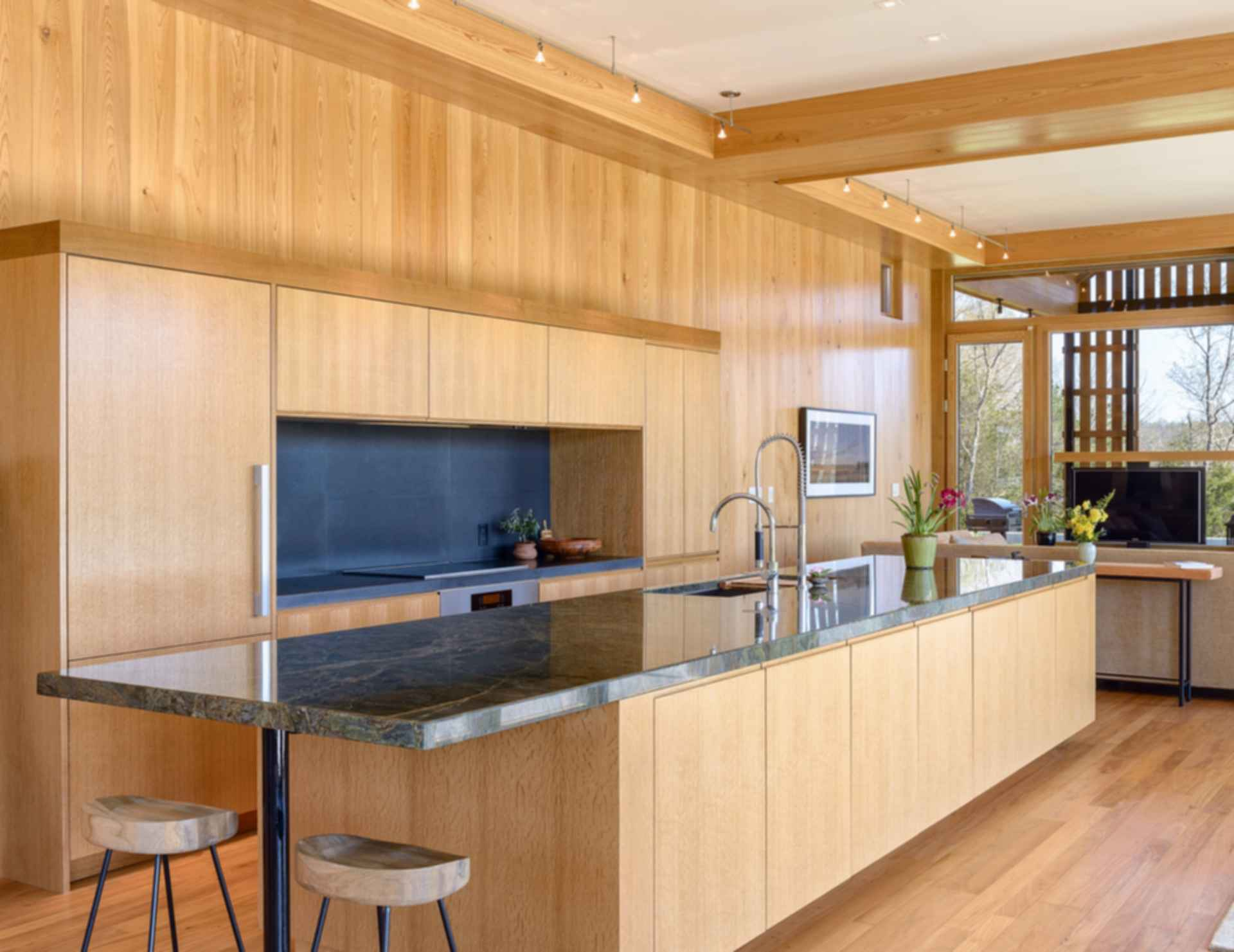Contemporary Barn Residence - Kitchen
