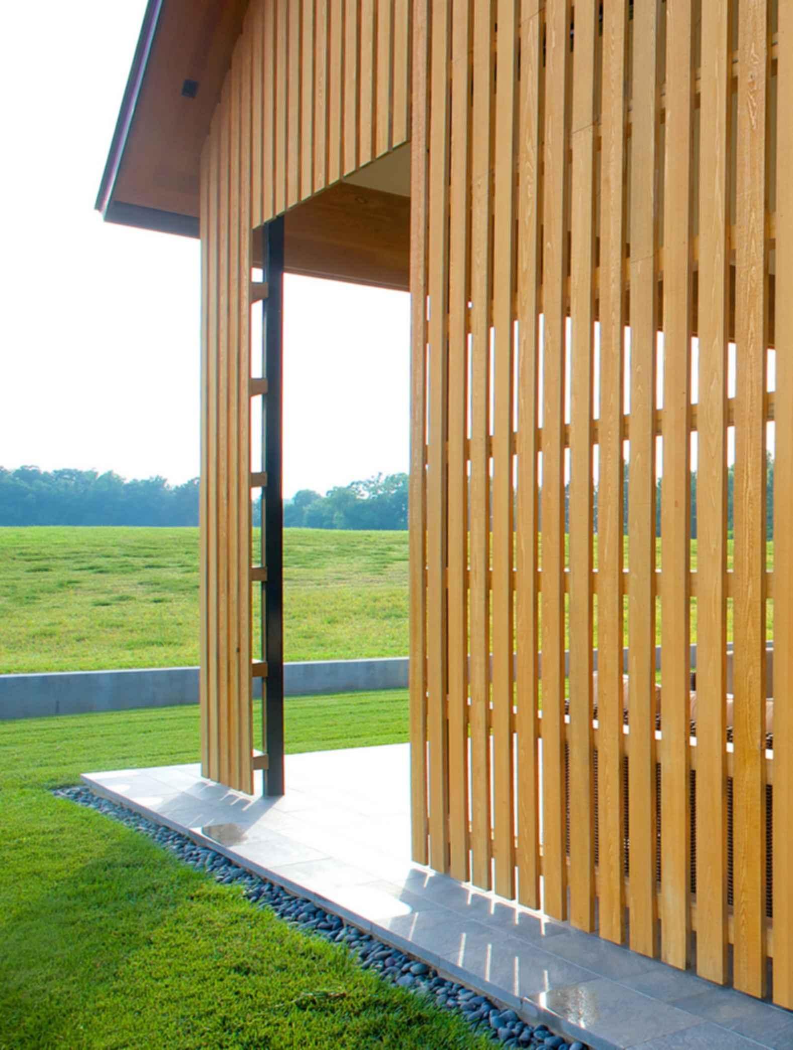 Contemporary Barn Residence - Porch