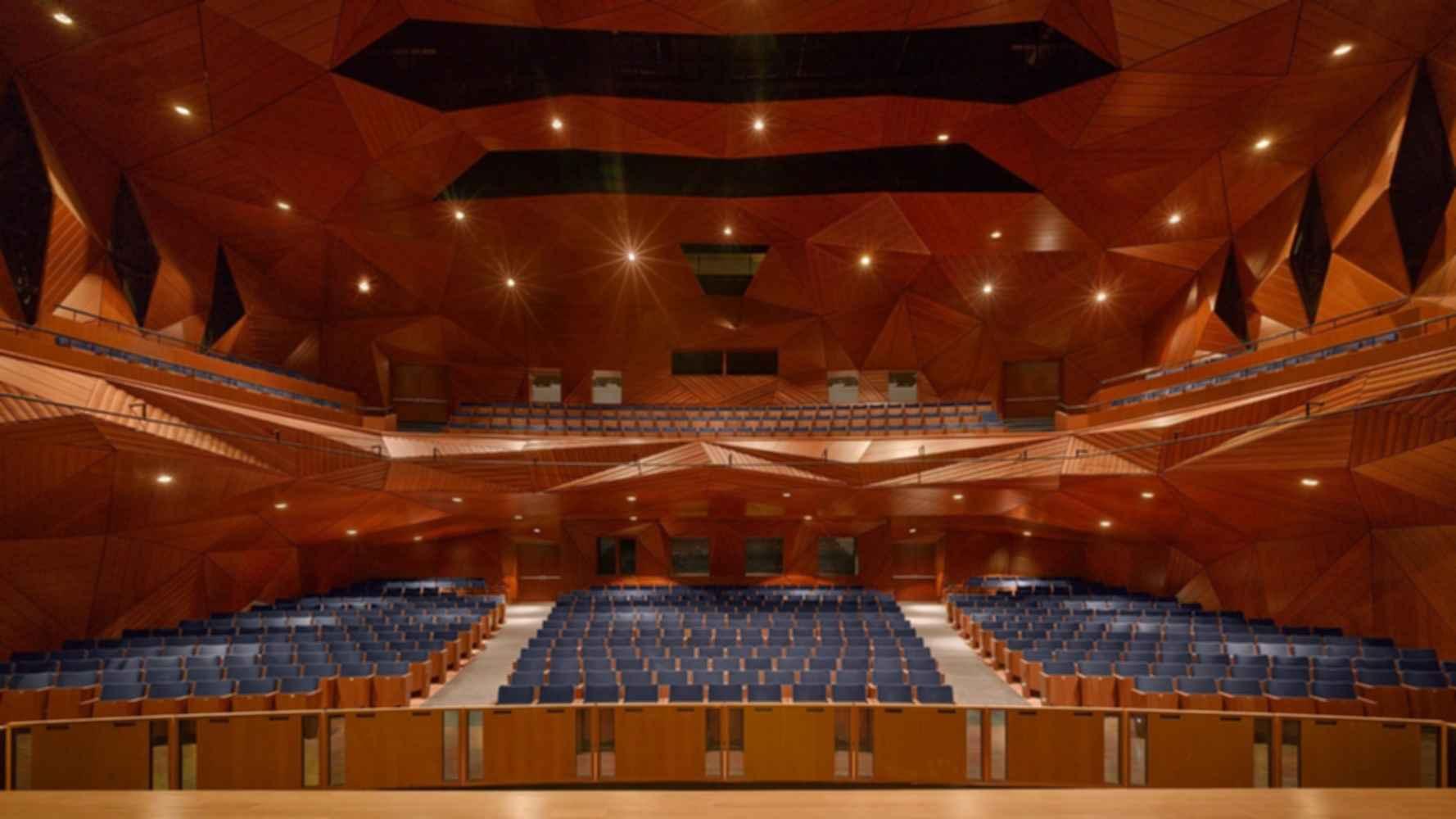 New York University Abu Dhabi - Theater