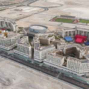 New York University Abu Dhabi - Aerial View