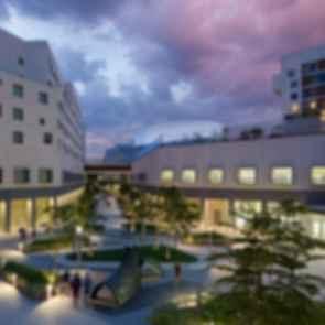 New York University Abu Dhabi - Exterior