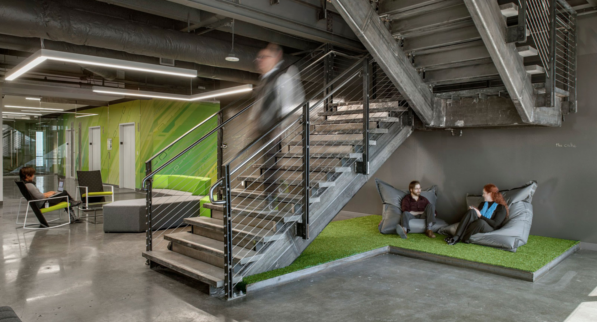Active Network Headquarters - Stairs