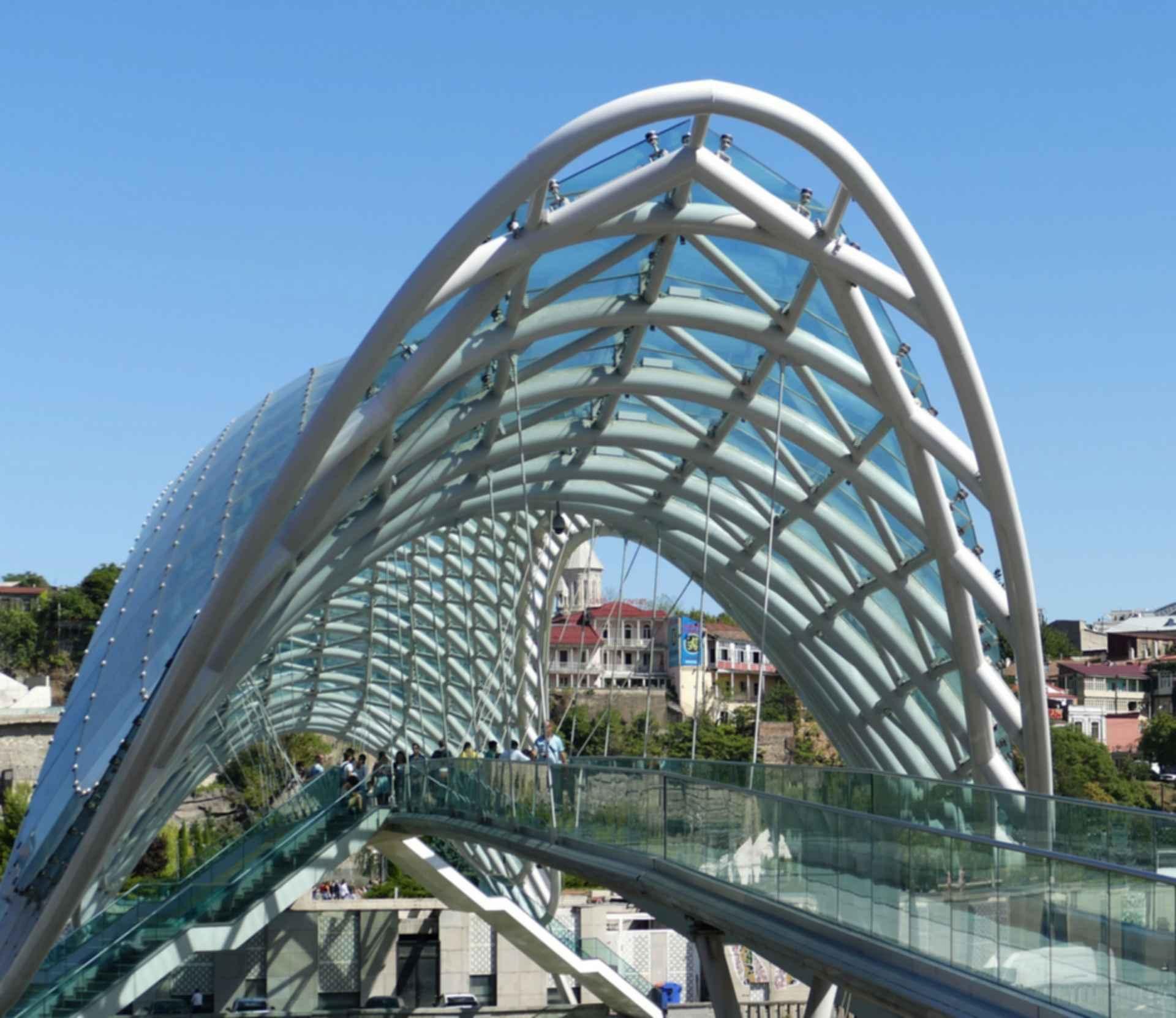 Bridge of Peace - Exterior