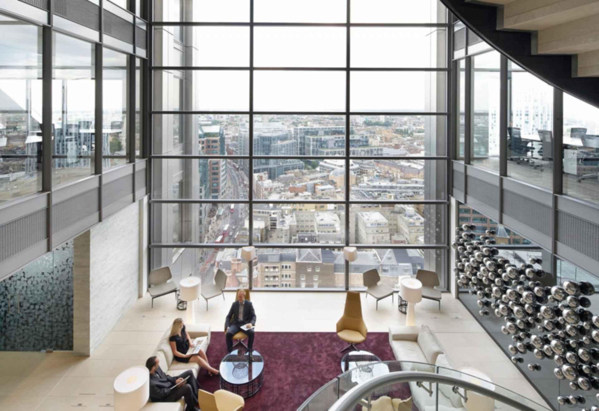 110 Bishopsgate - Interior