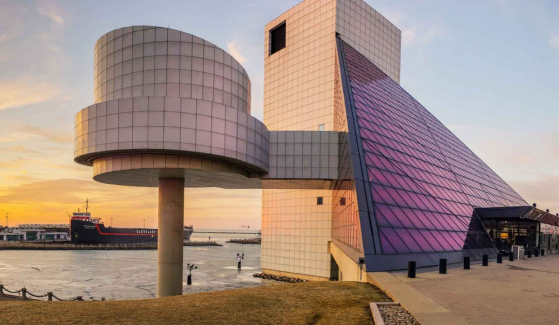 The Rock and Roll Hall of Fame Museum - Exterior