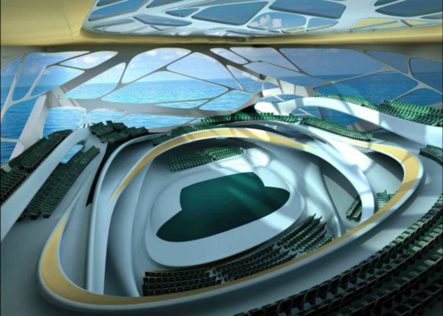 Abu Dhabi Performing Arts Centre - Interior Concept