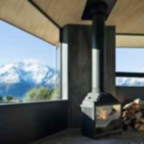 Bivvy Hut - Fireplace