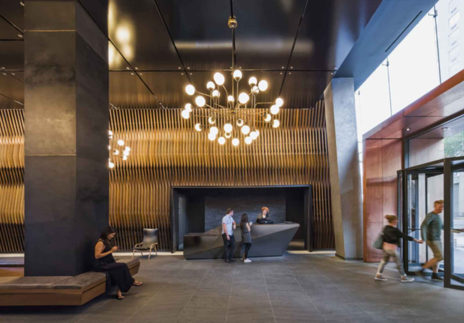American Copper Buildings - Lobby
