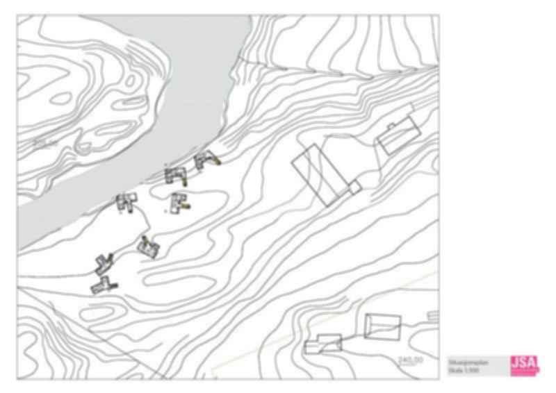 Juvet Landscape Hotel - Site Plan