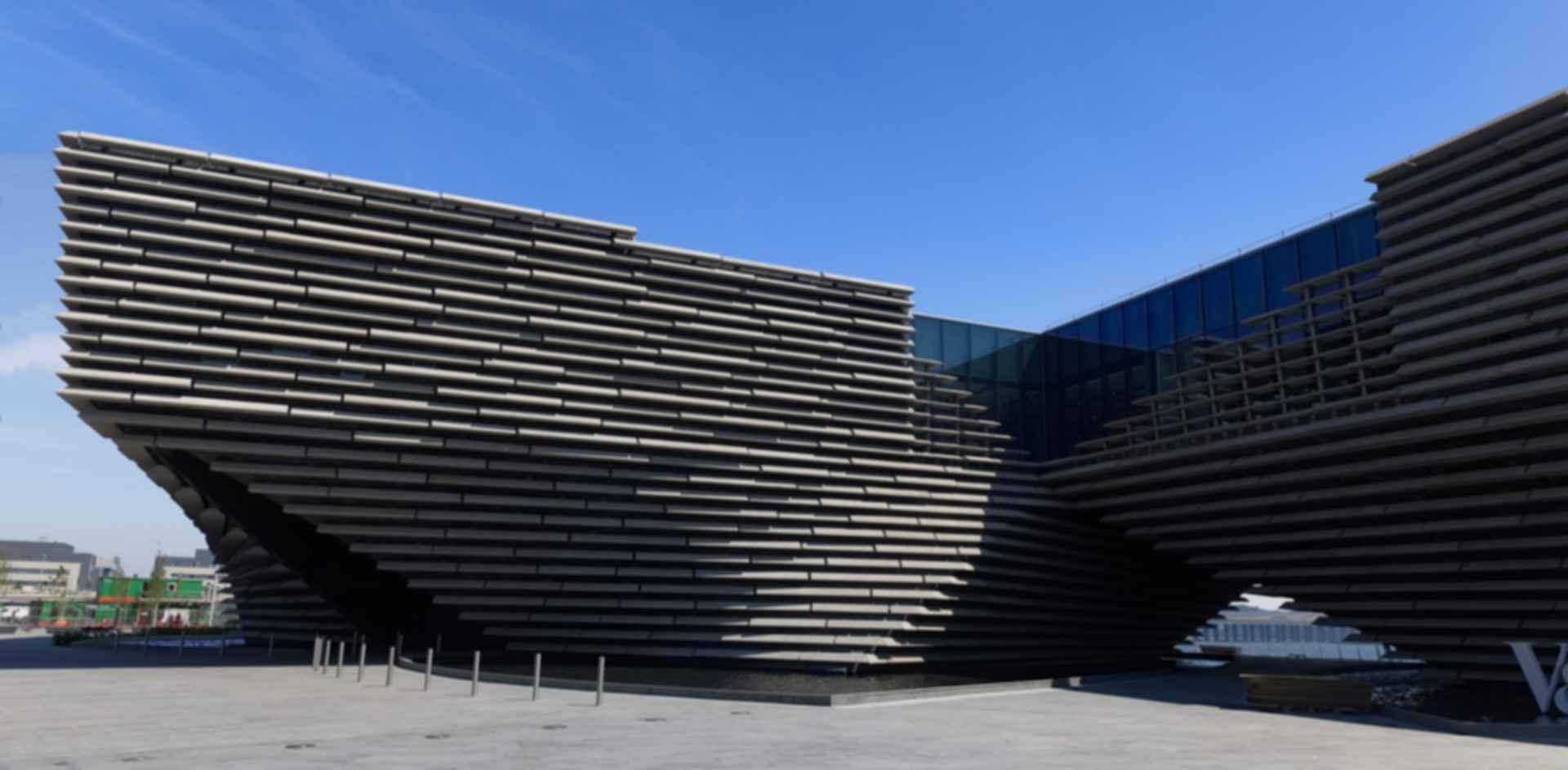 V&A Dundee - Exterior