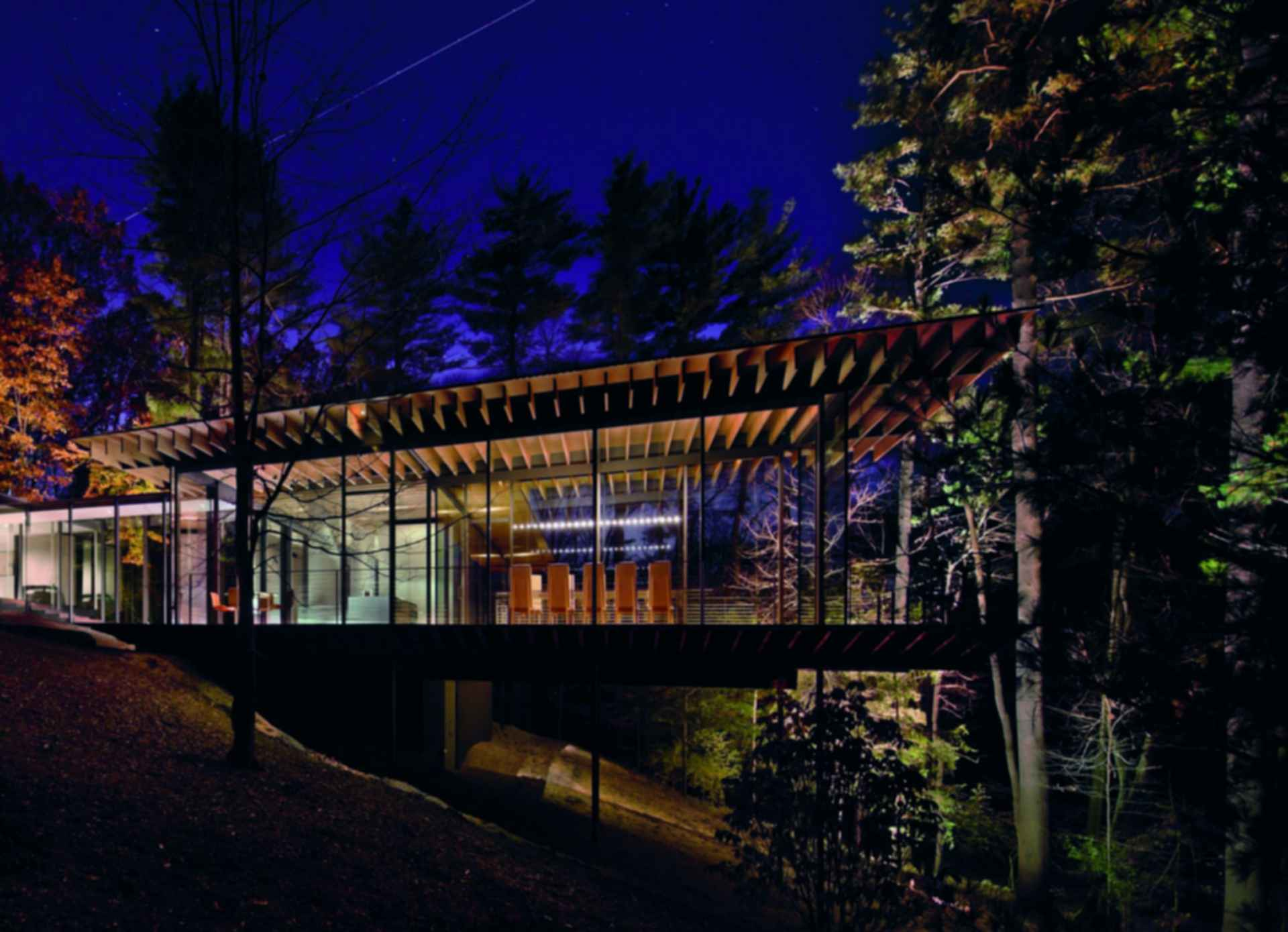 Glass/Wood House - Exterior