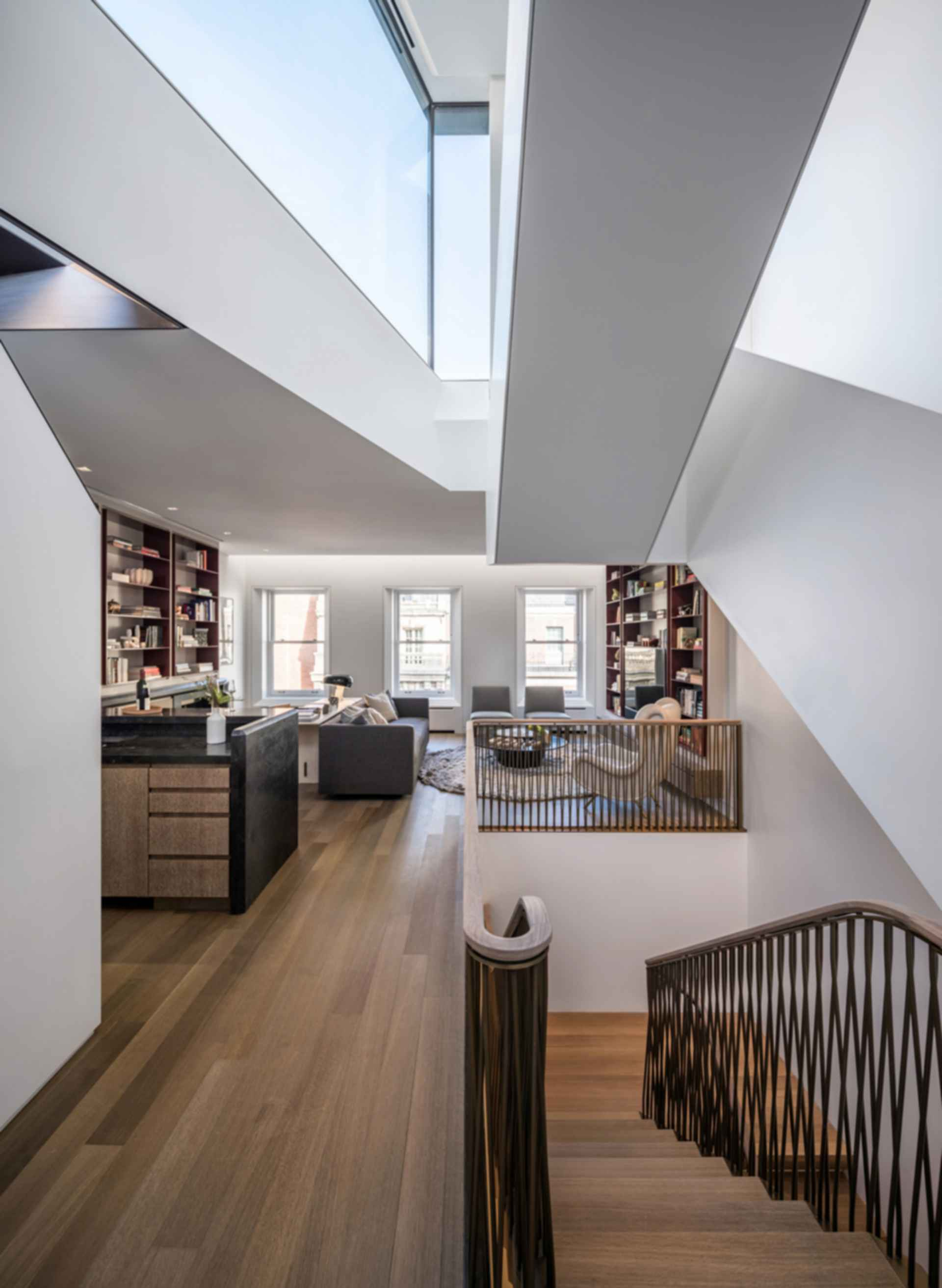 Upper East Side Townhouse - Library