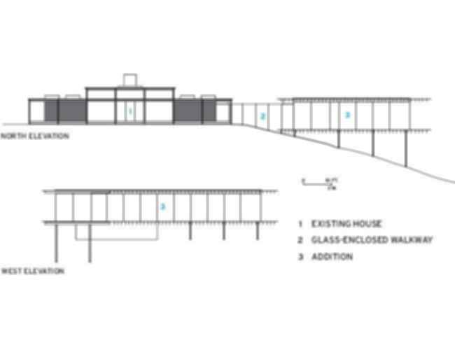 Glass/Wood House - Site Plan