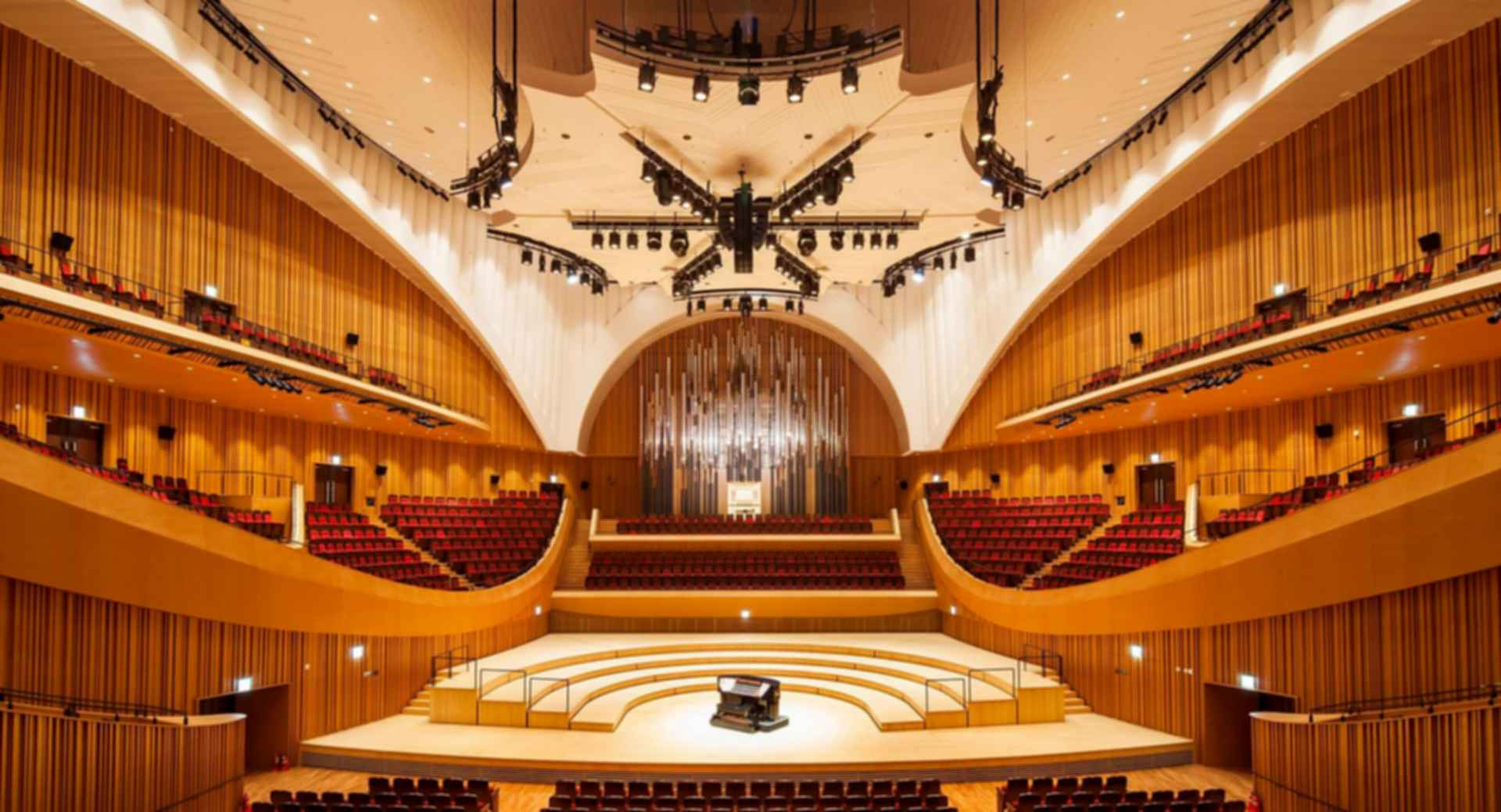 Lotte Concert Hall - Interior