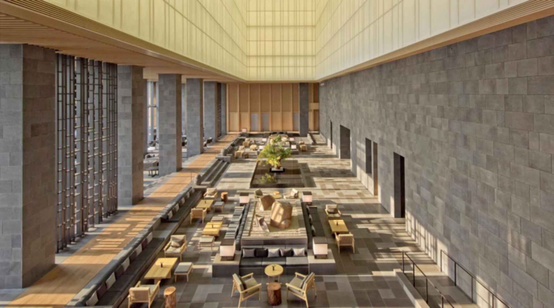 The Otemachi Tower - Lobby Concept Design