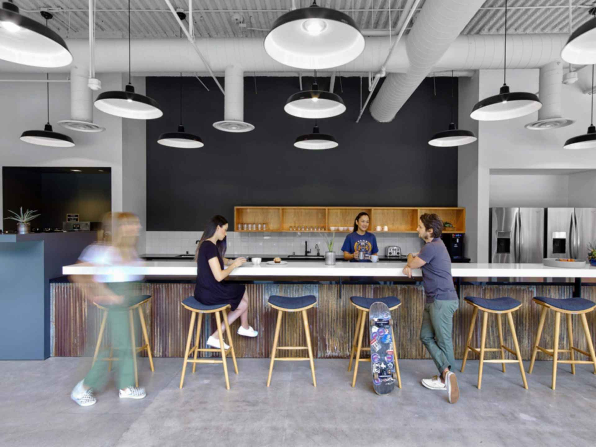 Vans Headquarters - Kitchen