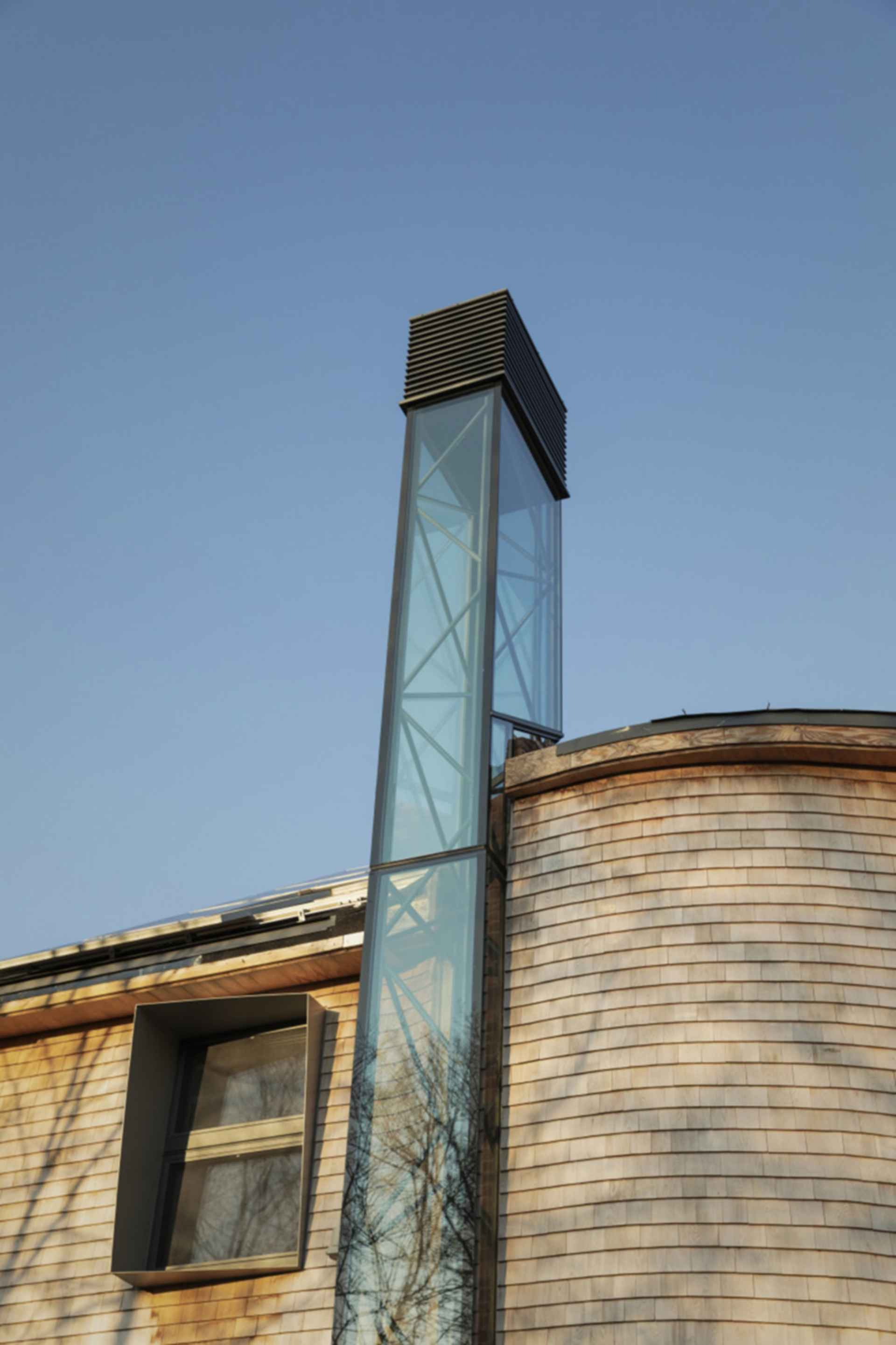 Harvard HouseZero - Solar Chimney
