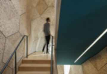 Harvard HouseZero - Stairwell