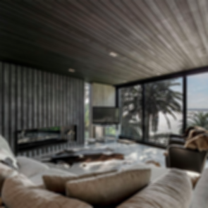 Point Chevalier House - Living Room
