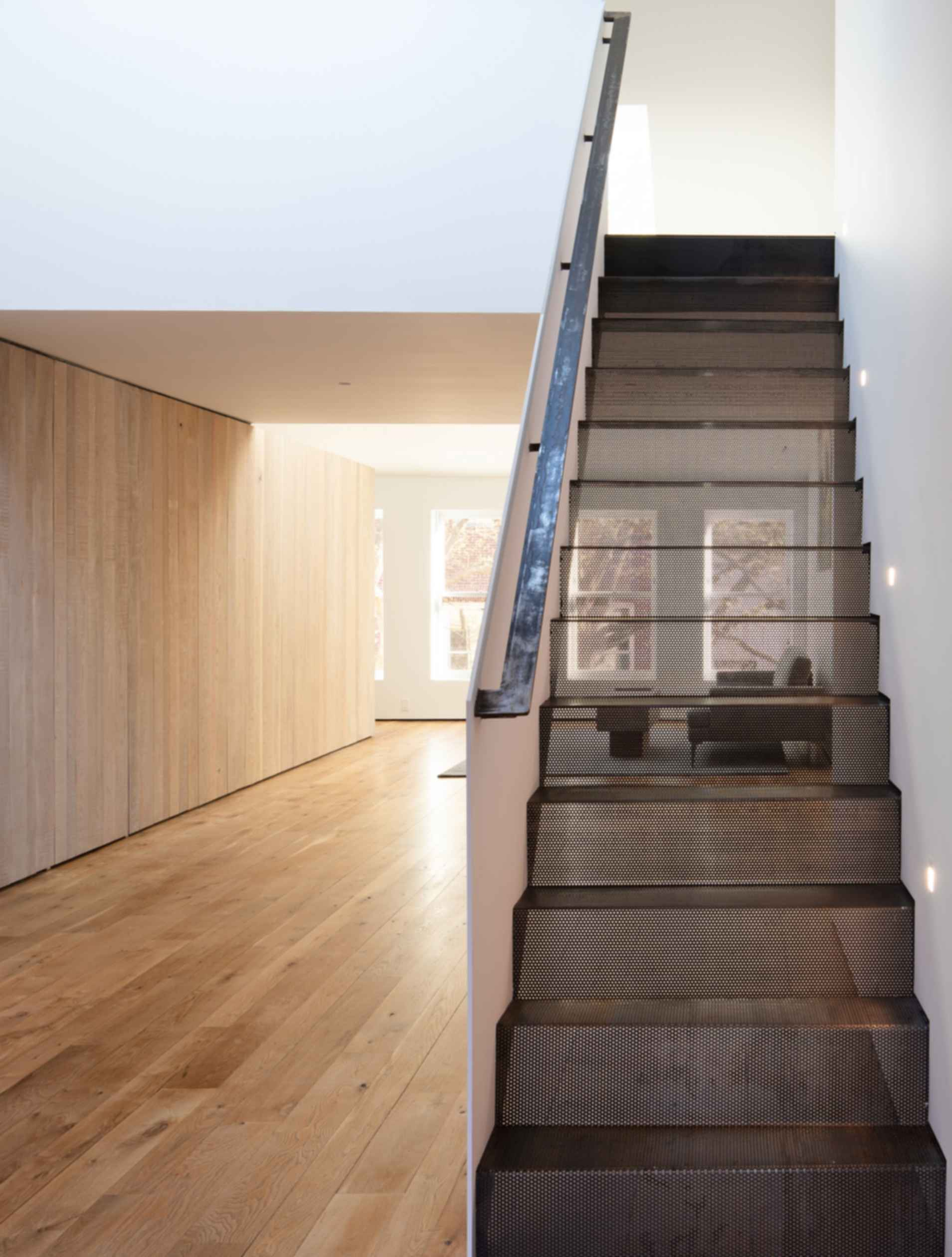 Downtown Loft - Perforated Loft Stair