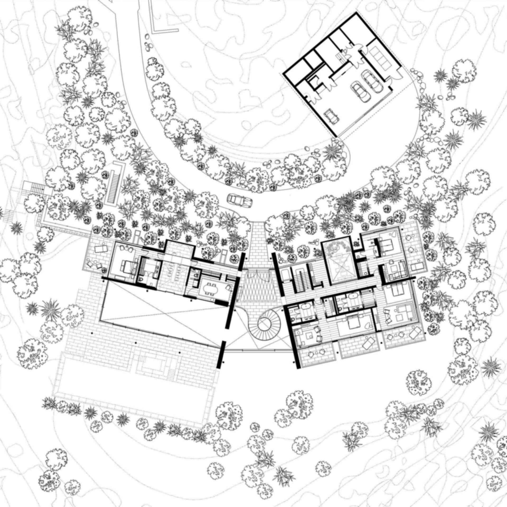 Dolunay Villa - Drawing